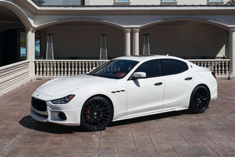 Forgiato Wheels Wald Internationale Maserati Ghibli Tuning 1 Forgiato Wheels Alu's am Wald Internationale Maserati Ghibli
