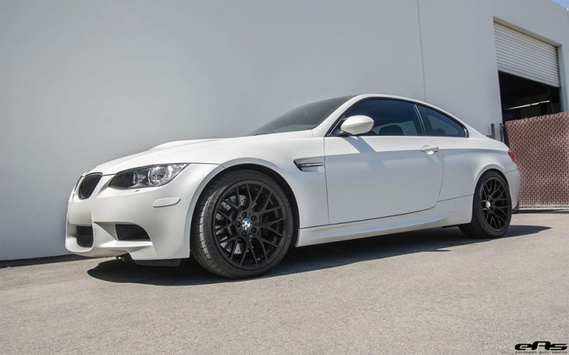 Frozen White BMW E92 M3 EAS Tuning V8 1 Fotostory: Frozen White BMW E92 M3 by EAS Tuning