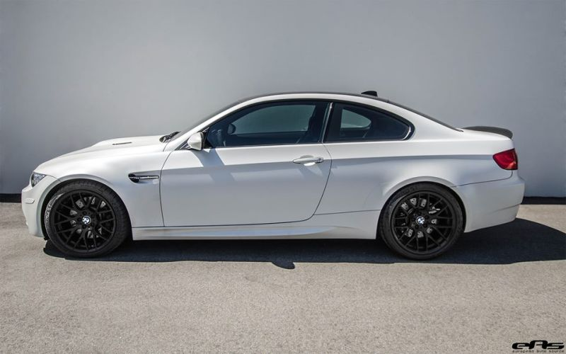 Frozen White BMW E92 M3 EAS Tuning V8 2 Fotostory: Frozen White BMW E92 M3 by EAS Tuning