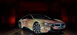 Garage Italia Customs Futurism Edition BMW i8 ArtCar Tuning 7 1 e1463473278766 310x143 Fotostory: Garage Italia Customs & BMW zeigen i8 ArtCar