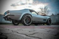 HEB C3 Corvette with a C6 Powertrain LS3 04 190x127 Restomod   Chevrolet Corvette C3 mit neuer C6 Technik