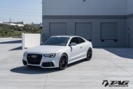 HRE FF15 Alufelgen wei%C3%9F Audi RS5 Coupe Tuning TAG Motorsports 4 190x127 HRE FF15 Alufelgen in Schwarz am weißen Audi RS5 Coupe