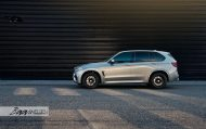 HRE Wheels Akrapovic Auspuff BMW X5M F85 Tuning 2 190x119 Dezent   HRE Wheels & Akrapovic Auspuff am BMW X5M F85