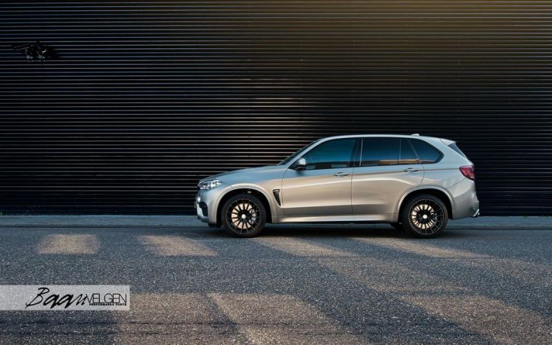 HRE Wheels Akrapovic Auspuff BMW X5M F85 Tuning 2 Dezent   HRE Wheels & Akrapovic Auspuff am BMW X5M F85