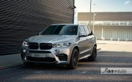 HRE Wheels Akrapovic Auspuff BMW X5M F85 Tuning 4 190x119 Dezent   HRE Wheels & Akrapovic Auspuff am BMW X5M F85