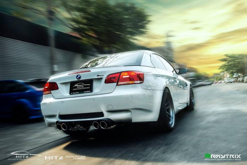 Hitzproject BMW M3 E92 Armytrix ADV.1 Wheels Tuning 2 Hitzproject BMW M3 E92 mit Armytrix und ADV.1 Wheels