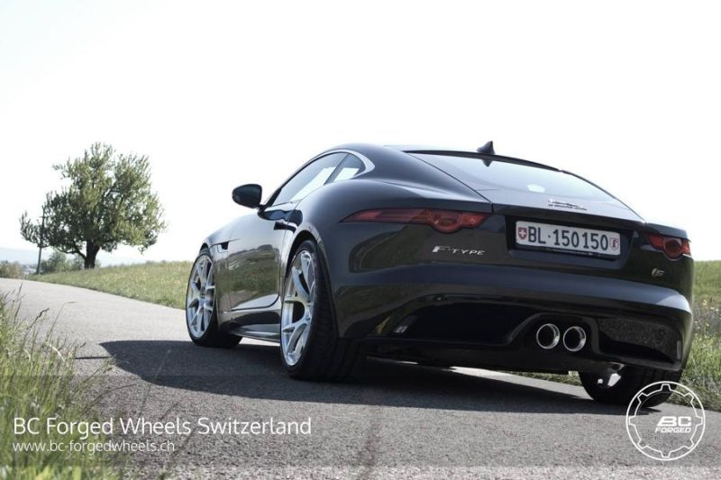 Jaguar F-Type S Coupe 20 Zoll RS41 BC Forged Wheels Tuning 1