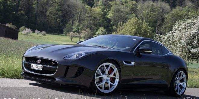 jaguar f type s coupe auf 20 zoll rs41 bc forged wheels. Black Bedroom Furniture Sets. Home Design Ideas