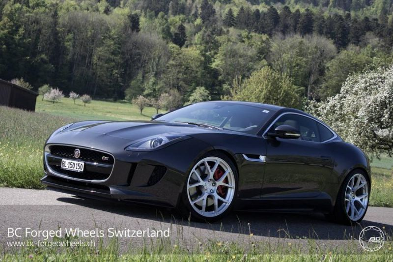 Jaguar F Type S Coupe 20 Zoll RS41 BC Forged Wheels Tuning 2 Jaguar F Type S Coupe auf 20 Zoll RS41 BC Forged Wheels