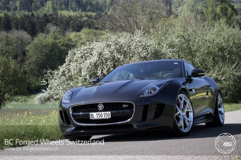 Jaguar F Type S Coupe 20 Zoll RS41 BC Forged Wheels Tuning 3 Jaguar F Type S Coupe auf 20 Zoll RS41 BC Forged Wheels