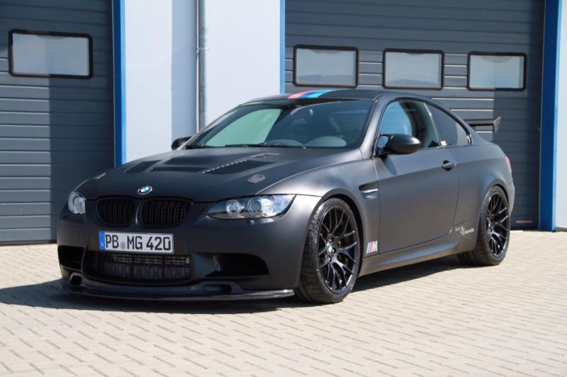 KK Automobile 630PS Kompressor BMW E92 M3 Mattschwarz Tuning 1 KK Automobile   630PS Kompressor BMW E92 M3 in Mattschwarz