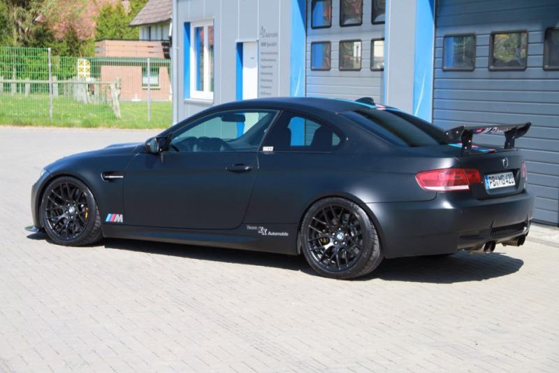 KK Automobile 630PS Kompressor BMW E92 M3 Mattschwarz Tuning 2 KK Automobile   630PS Kompressor BMW E92 M3 in Mattschwarz