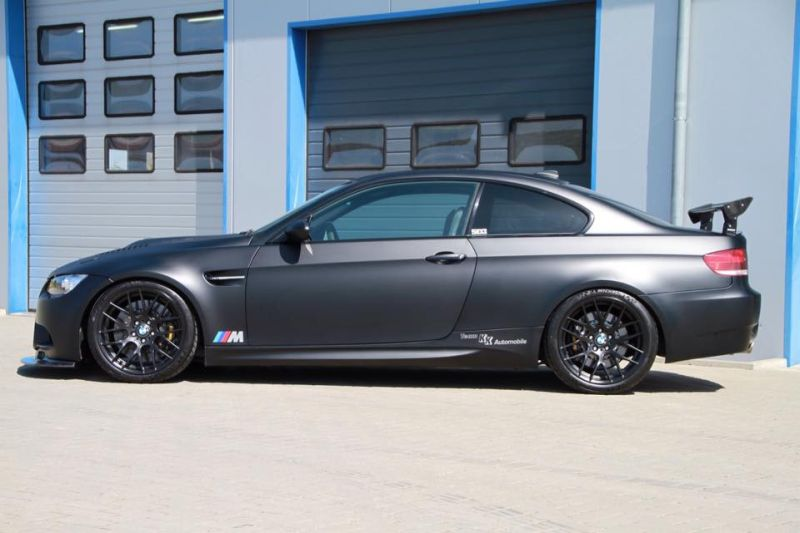 KK Automobile 630PS Kompressor BMW E92 M3 Mattschwarz Tuning 4 KK Automobile   630PS Kompressor BMW E92 M3 in Mattschwarz