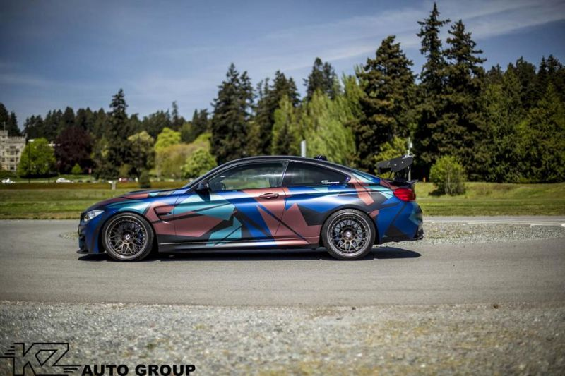 KZ Auto Group BMW M4 F82 Coupe HRE 300 Classic tuning 11