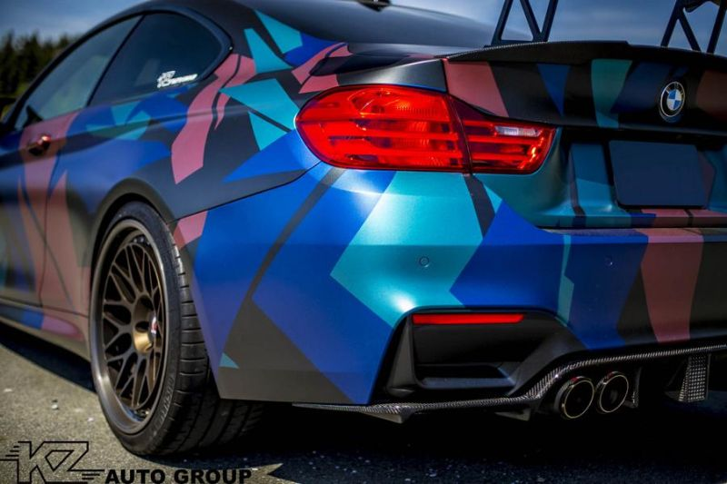 KZ Auto Group BMW M4 F82 Coupe HRE 300 Classic tuning 5
