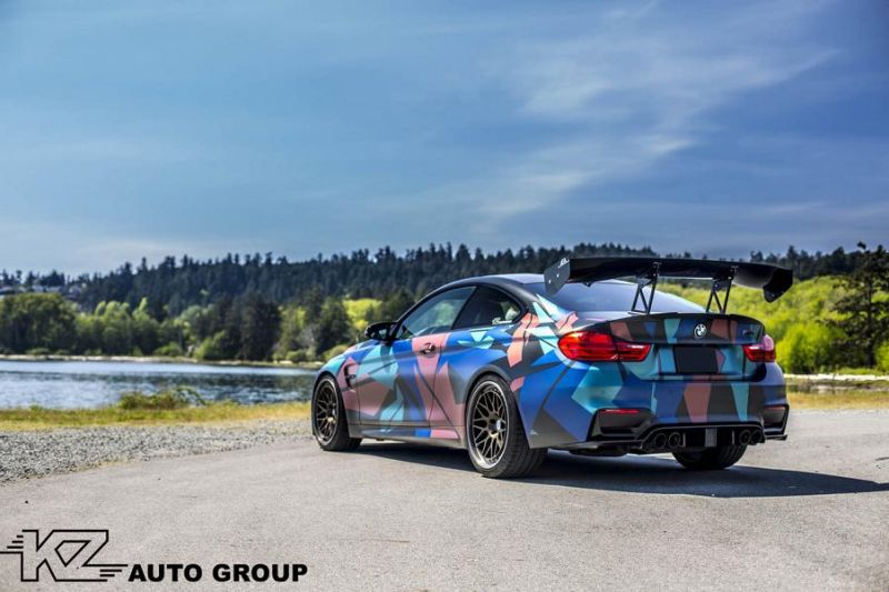 KZ Auto Group BMW M4 F82 Coupe HRE 300 Classic tuning 7