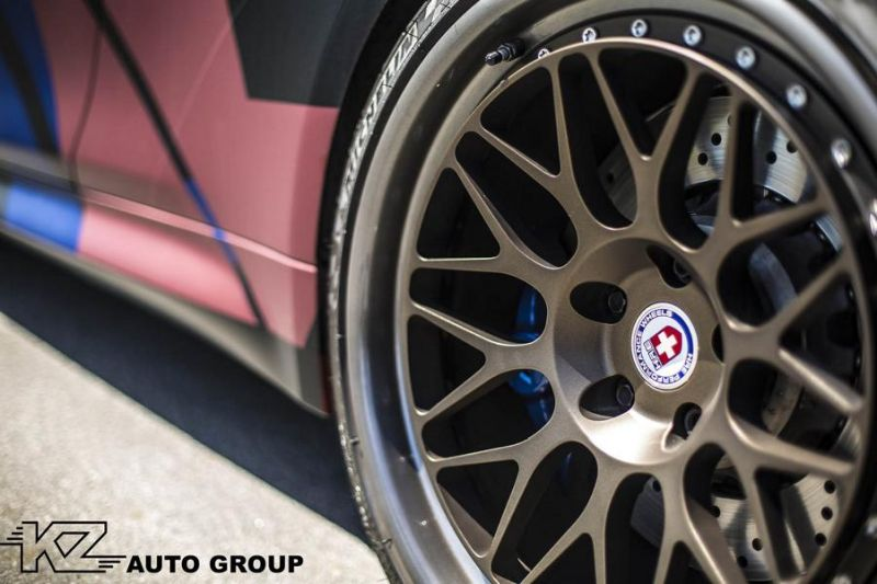 KZ Auto Group BMW M4 F82 Coupe HRE 300 Classic tuning 8