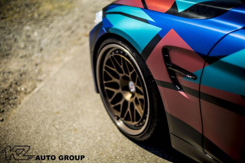 KZ Auto Group BMW M4 F82 Coupe HRE 300 Classic tuning 9