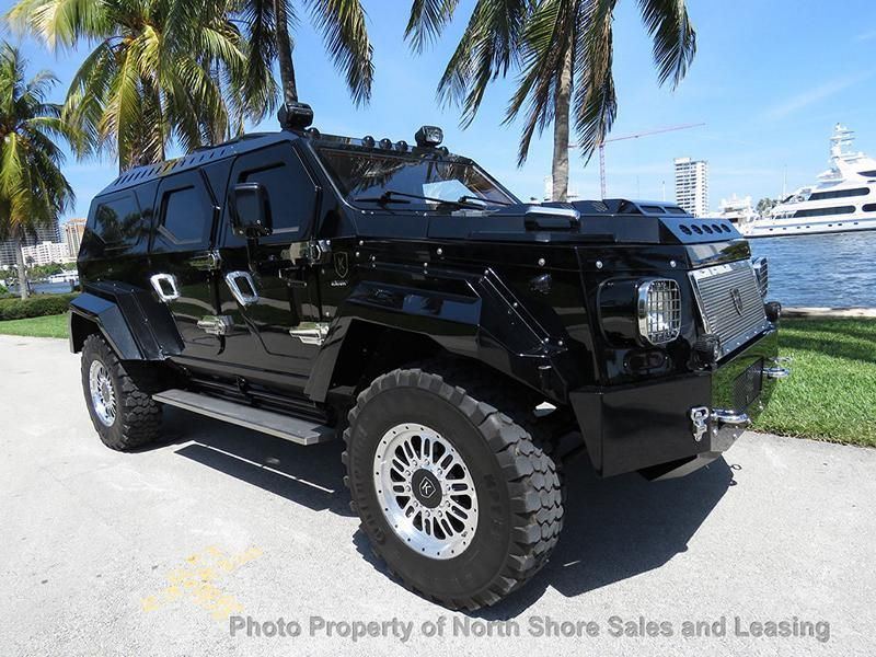 Knight XV Luxus Panzerung Vehicle Tuning Conquest Vehicles 1 Fotostory: Knight XV   fahrender Luxus Safe in Schwarz!