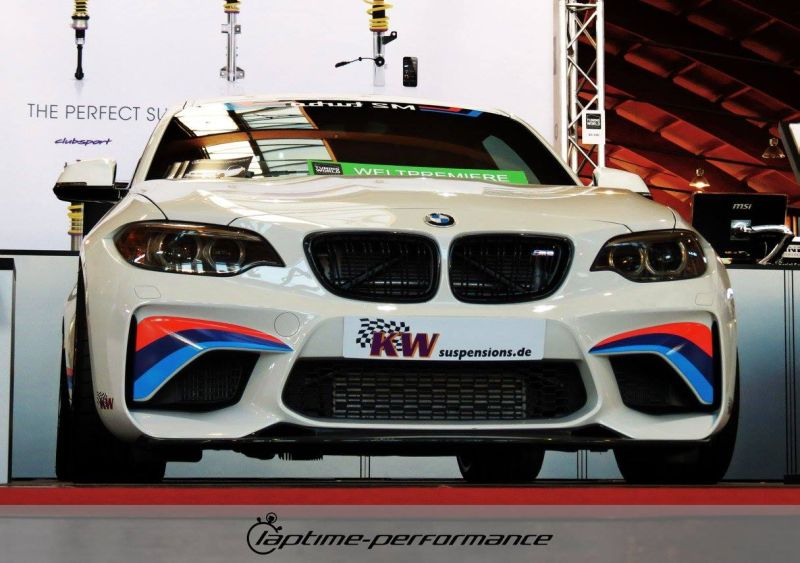 Laptime Performance BMW M2 F87 OZ KW Mcchip Chiptuning 1 Laptime Performance BMW M2 F87 mit 420PS & KW Fahrwerk