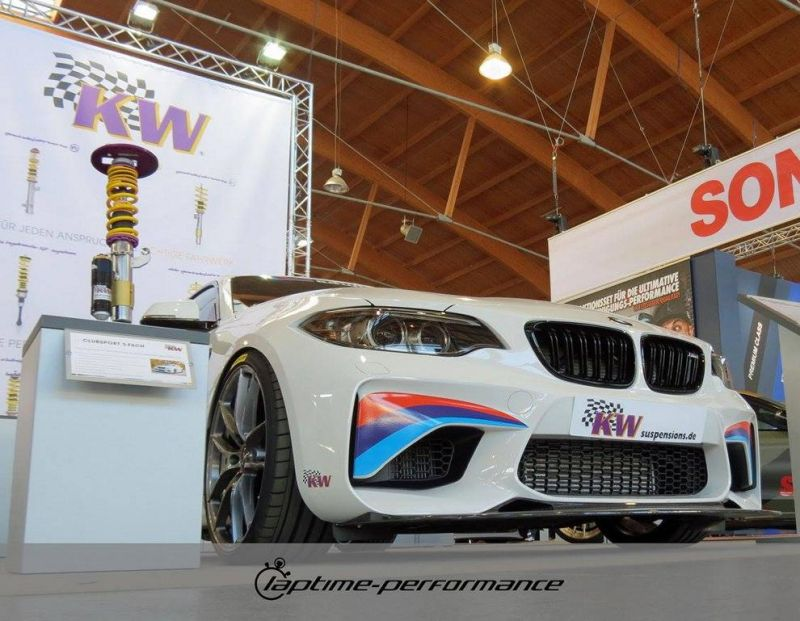 Laptime Performance BMW M2 F87 OZ KW Mcchip Chiptuning 11