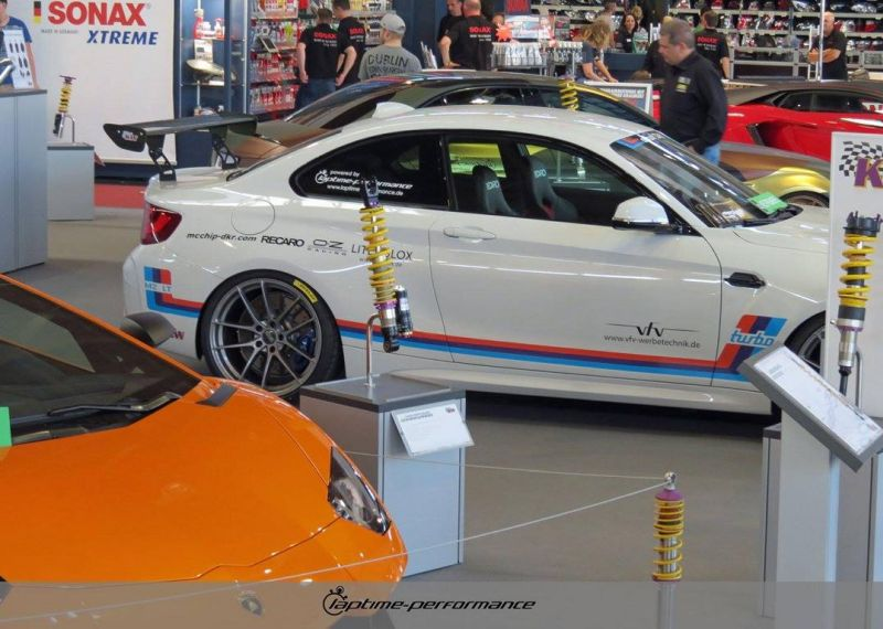 Laptime Performance BMW M2 F87 OZ KW Mcchip Chiptuning 2 Laptime Performance BMW M2 F87 mit 420PS & KW Fahrwerk