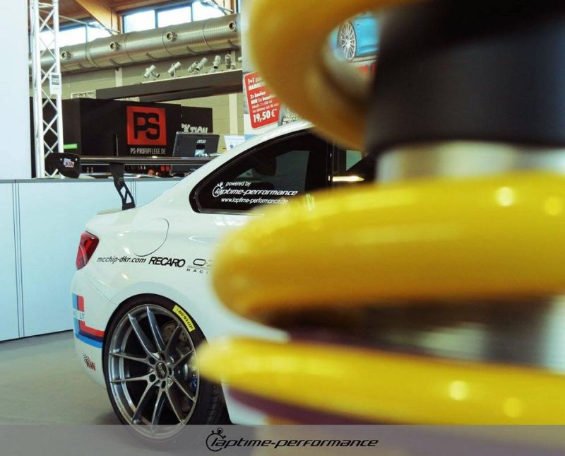Laptime Performance BMW M2 F87 OZ KW Mcchip Chiptuning 4