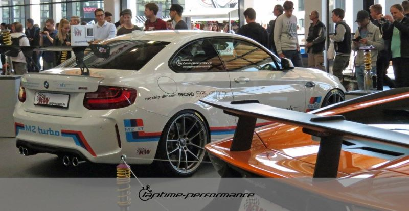 Laptime Performance BMW M2 F87 OZ KW Mcchip Chiptuning 8