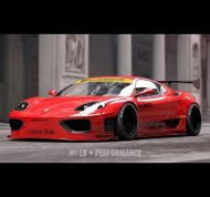 Liberty Walk Performance Ferrari 360 Modena Tuning 1 190x178 Vorschau: Liberty Walk Performance Ferrari 360 Modena