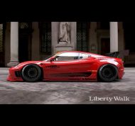 Liberty Walk Performance Ferrari 360 Modena Tuning 3 190x178 Vorschau: Liberty Walk Performance Ferrari 360 Modena
