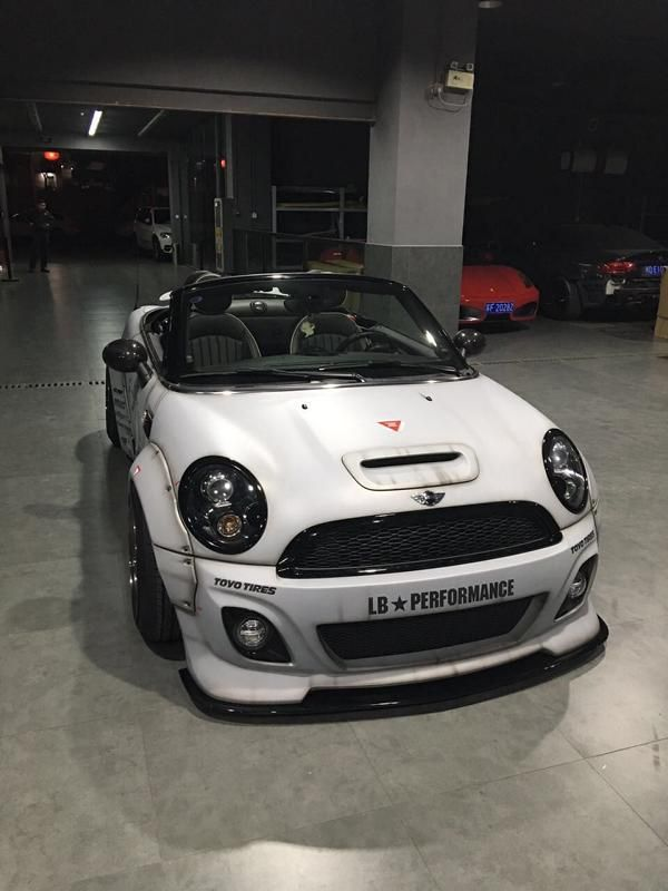 Liberty Walk Performance Widebody Mini Cooper S Roadster Tuning 5