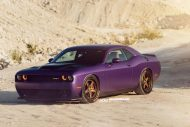 Lila Purple Dodge Challenger Hellcat ADV.1 Wheels wheelsboutique tuning 1 190x127 Video: Lila Dodge Challenger Hellcat auf ADV.1 Wheels Alu's