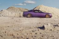 Lila Purple Dodge Challenger Hellcat ADV.1 Wheels wheelsboutique tuning 10 190x127 Video: Lila Dodge Challenger Hellcat auf ADV.1 Wheels Alu's