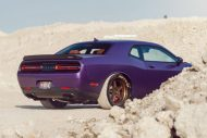 Lila Purple Dodge Challenger Hellcat ADV.1 Wheels wheelsboutique tuning 11 190x127 Video: Lila Dodge Challenger Hellcat auf ADV.1 Wheels Alu's