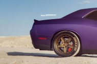Lila Purple Dodge Challenger Hellcat ADV.1 Wheels wheelsboutique tuning 13 190x127 Video: Lila Dodge Challenger Hellcat auf ADV.1 Wheels Alu's