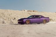 Lila Purple Dodge Challenger Hellcat ADV.1 Wheels wheelsboutique tuning 2 190x127 Video: Lila Dodge Challenger Hellcat auf ADV.1 Wheels Alu's