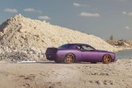 Lila Purple Dodge Challenger Hellcat ADV.1 Wheels wheelsboutique tuning 7 190x127 Video: Lila Dodge Challenger Hellcat auf ADV.1 Wheels Alu's