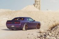 Lila Purple Dodge Challenger Hellcat ADV.1 Wheels wheelsboutique tuning 8 190x127 Video: Lila Dodge Challenger Hellcat auf ADV.1 Wheels Alu's