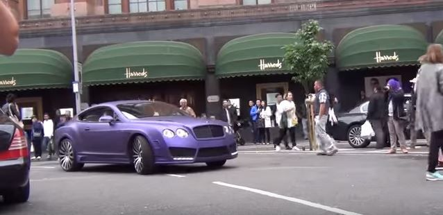 Mansory Bentley Continental GT W12 in Matt-Lila Tuning