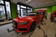 Mattrot Satin Audi RS6 C7 Avant Folierung Tuning Print Tech Premium Wrapping 1 190x126 Mattroter Audi RS6 C7 Avant by Print Tech Premium Wrapping