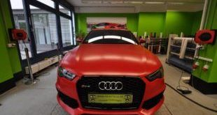 Mattrot Satin Audi RS6 C7 Avant Folierung Tuning Print Tech Premium Wrapping 2 1 e1463828263722 310x165 Mattroter Audi RS6 C7 Avant by Print Tech Premium Wrapping