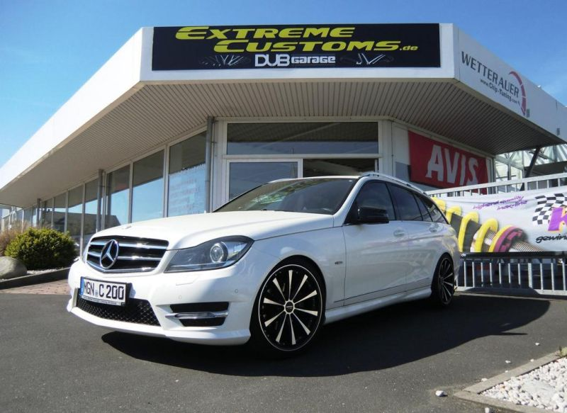 Mercedes-Benz C200 T-Modell Tuning Extreme Customs Germany 1