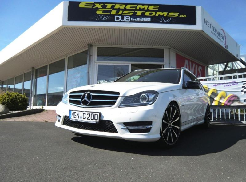 Mercedes Benz C200 T Modell Tuning Extreme Customs Germany 2 Mercedes Benz C200 T Modell von Extreme Customs Germany