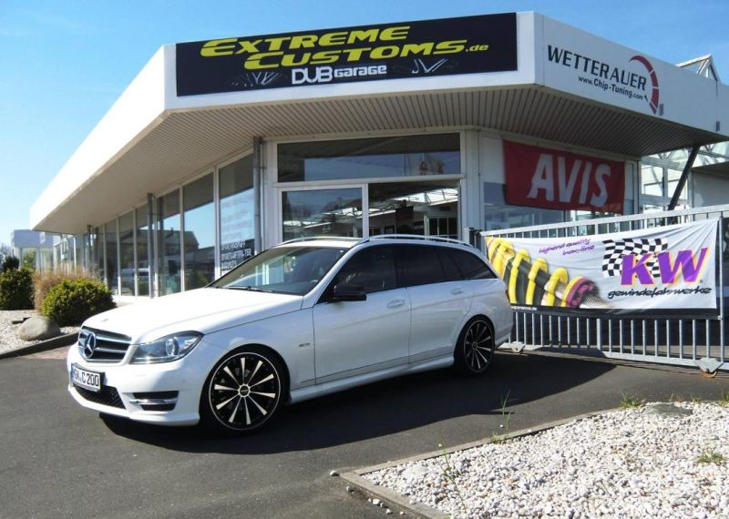 Mercedes Benz C200 T Modell Tuning Extreme Customs Germany 3 Mercedes Benz C200 T Modell von Extreme Customs Germany