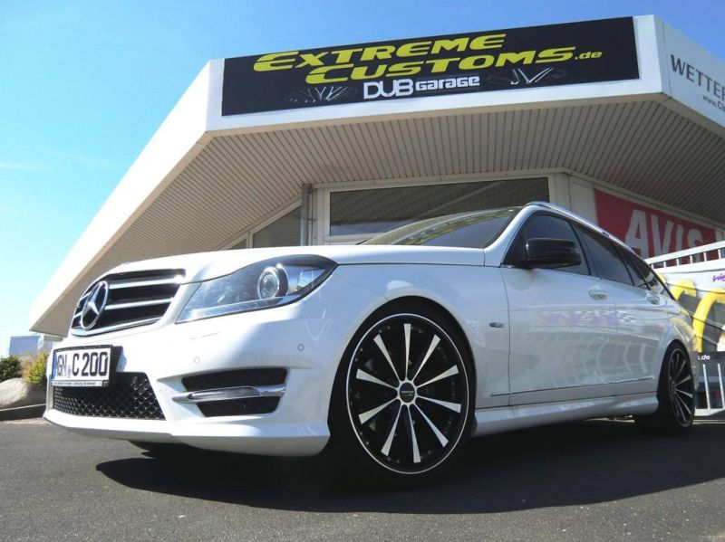 Mercedes-Benz C200 T-Modell Tuning Extreme Customs Germany 4