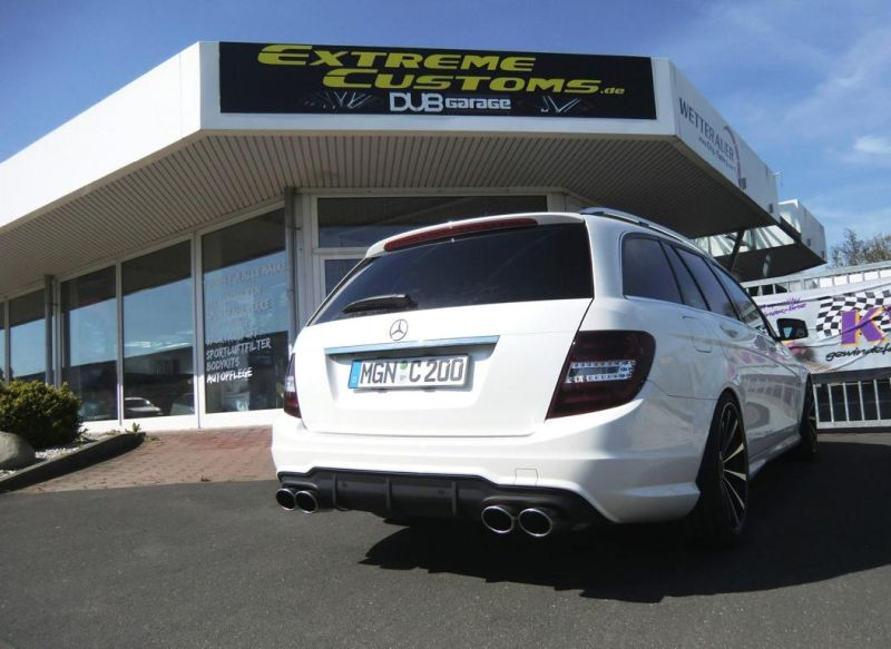 Mercedes-Benz C200 T-Modell Tuning Extreme Customs Germany 5