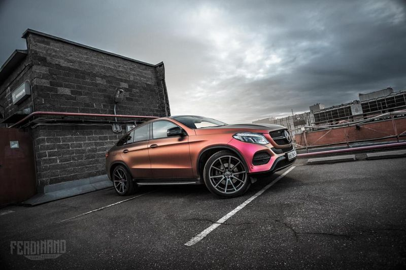Mercedes GLE Coupe FlipFlop Vossen Tuning Ferdinand Visual Workshop 1 Mercedes GLE Coupe mit FlipFlop Optik und Vossen Wheels