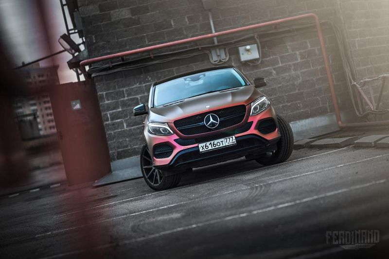 Mercedes GLE Coupe FlipFlop Vossen Tuning Ferdinand Visual Workshop 3 Mercedes GLE Coupe mit FlipFlop Optik und Vossen Wheels