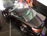 Mercedes SL R230 R231 Widebody Blackseries Design Optik Tuning FL Exclusiv Carstyling 2 190x143 Komplettprogramm   Mercedes SL R230 in SL63/65 Optik
