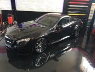 Mercedes SL R230 R231 Widebody Blackseries Design Optik Tuning FL Exclusiv Carstyling 5 190x143 Komplettprogramm   Mercedes SL R230 in SL63/65 Optik